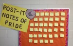 Post-It Notes of Pride Board